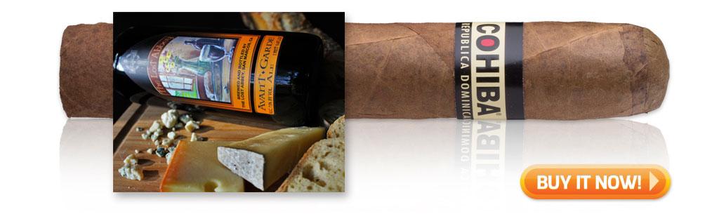 buy cohiba cigar pairings