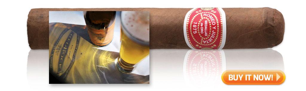 buy romeo y julieta 1875 bully cigar pairings