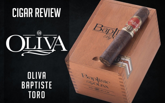 Oliva Baptiste Cigar Review – Video