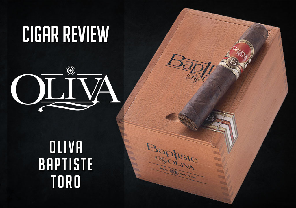 CA Cover Oliva Baptiste cigar review video