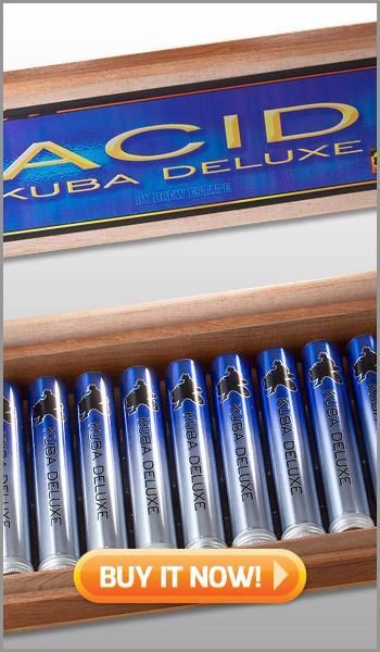 Buy ACID kuba deluxe cigar box