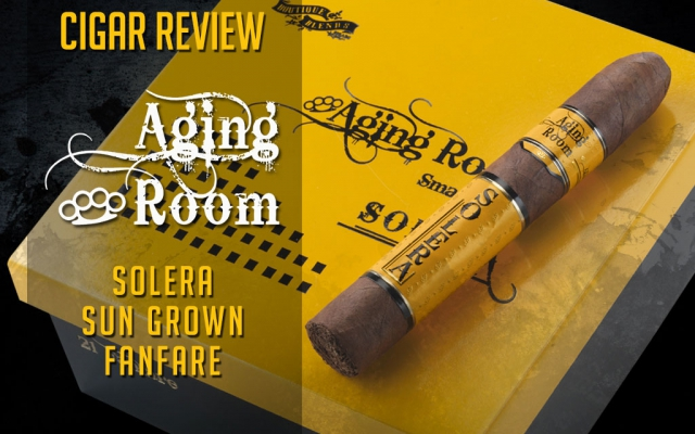 Aging Room Solera Cigar Review – Video
