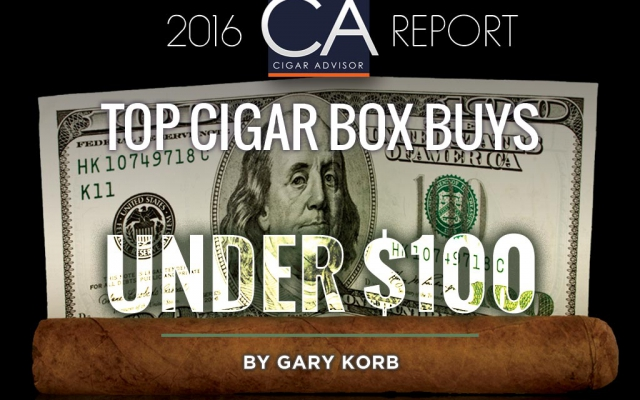 2016 CA Report: Top Cigar Box Buys Under $100