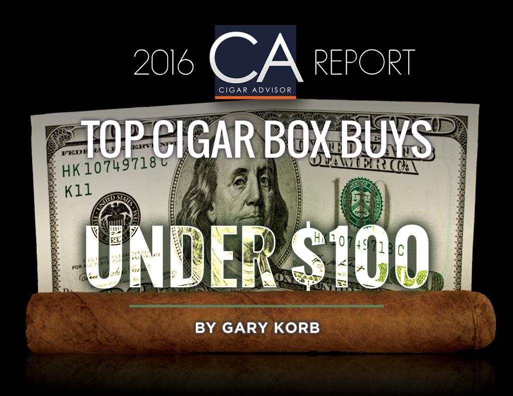 2016 CA Report: Top Cigar Box Buys Under $100