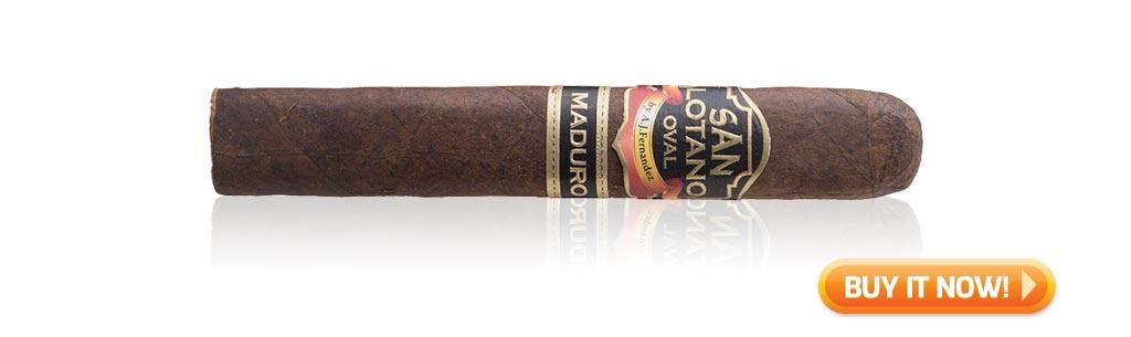 buy san lotano oval maduro toro after dinner cigar