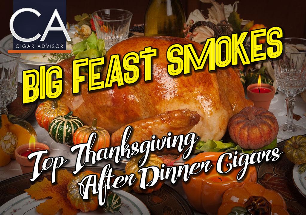 CA Report 2016: Top Thanksgiving After Dinner Cigar Picks