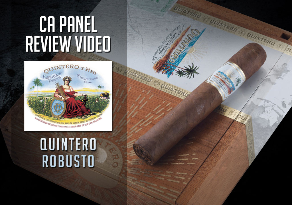 CACover Quintero cigar review video
