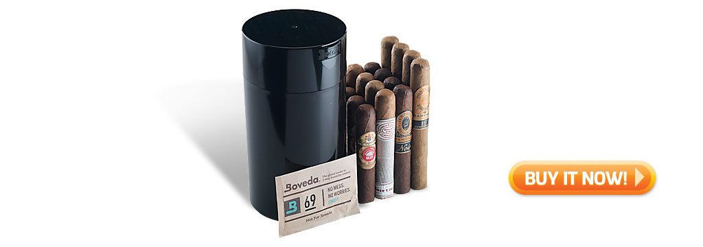 best of the humijar sampler cigar gift set