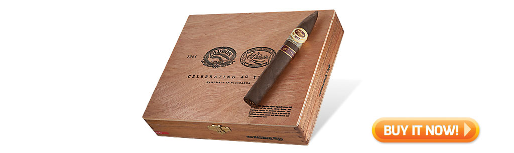 buy Padron 1926 torpedo 40th anniversary cigar gift
