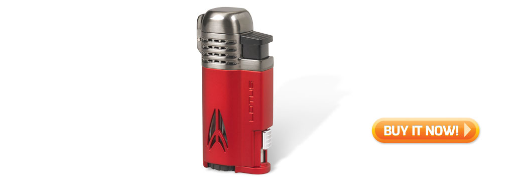 buy lotus cigar torch lighter red cigar gift