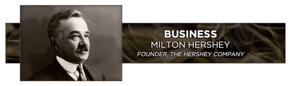 famous cigar smokers milton Hershey