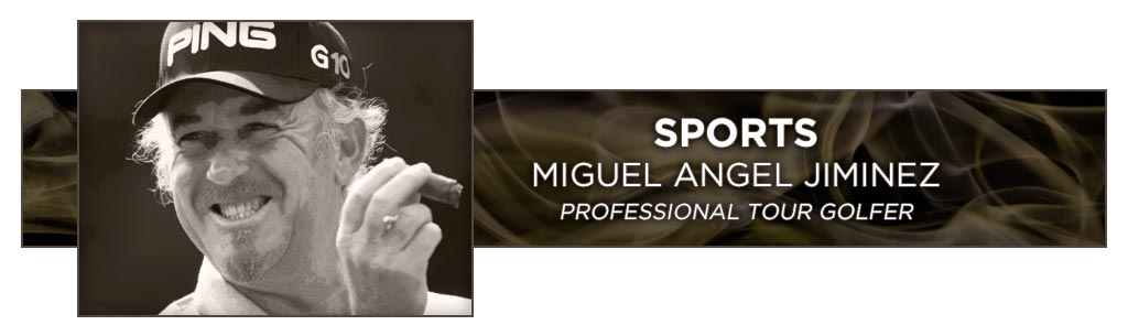 famous cigar smokers miguel angel Jiminez