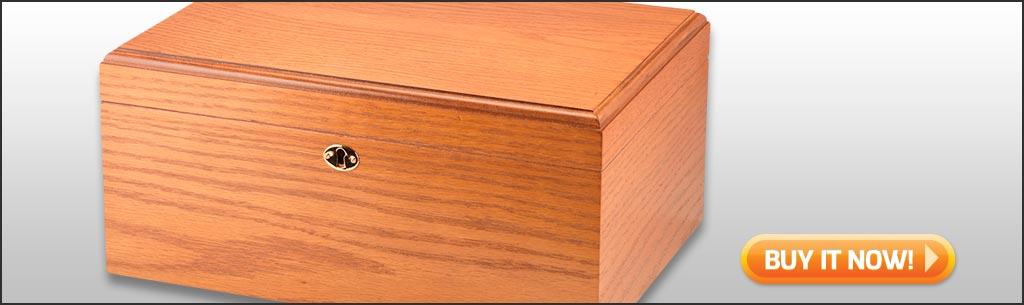 MILANO OAK buy medium desktop humidor