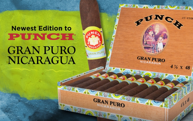 Punch Gran Puro Nicaragua Cigars Offer Cigar Smokers an Unprecedented New Taste Experience