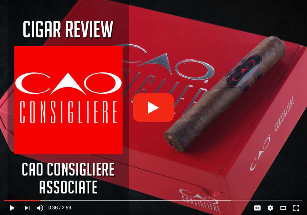 CAO Consigliere cigar review video cover