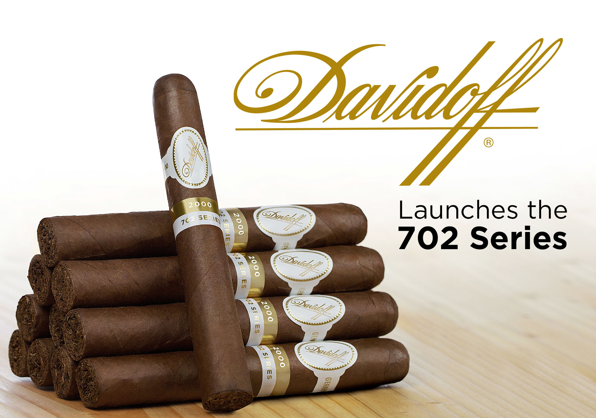 "Davidoff ""702 Series"" Cigars Debut in Five Iconic Core Line Shapes"
