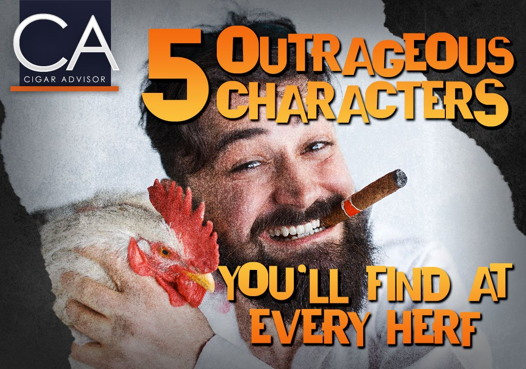 5 Outrageous Characters You'll Find at Every Herf