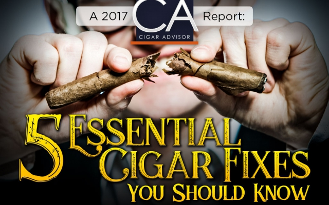 5 essential cigar fixes you need to know cover