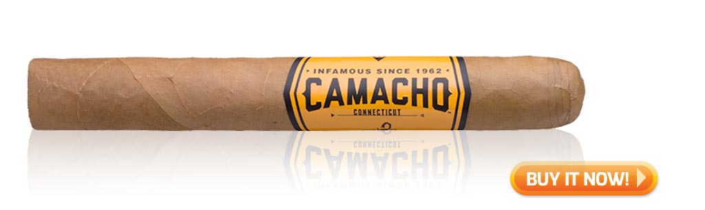 buy camacho connecticut wrapped cigars
