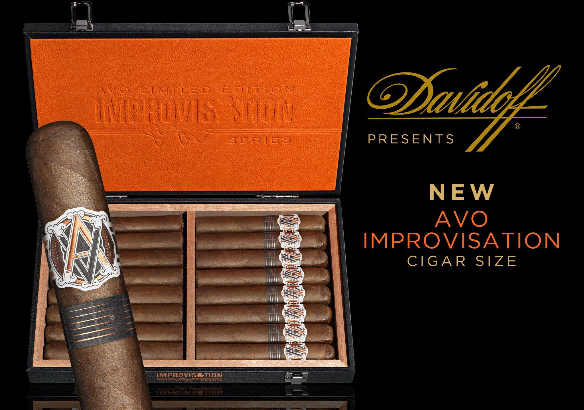 Davidoff Presents New AVO Improvisation LE17 Cigars