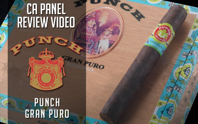 CACover Punch Gran Puro Nicaragua cigar review video