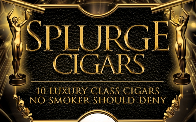 CACover Luxury Class cigars Splurge Cigars