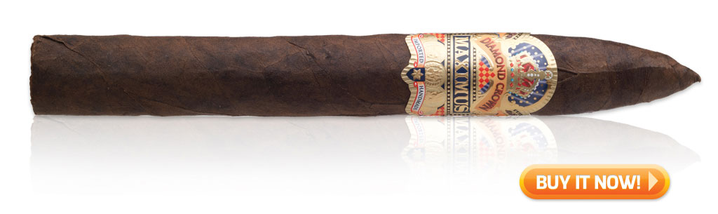 buy Diamond Crown Maximus luxury class cigars