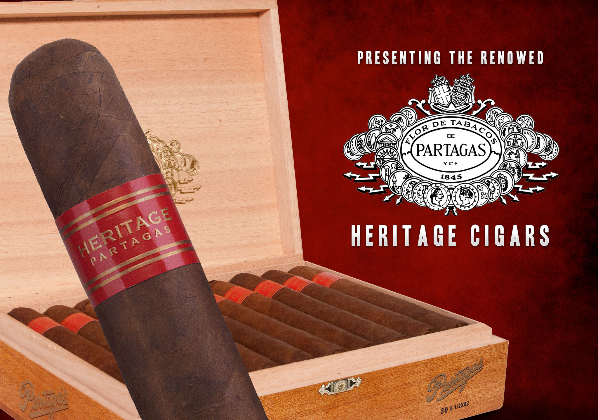 Partagas Heritage Cigars Pay Tribute to Over 170 Years of Excellence