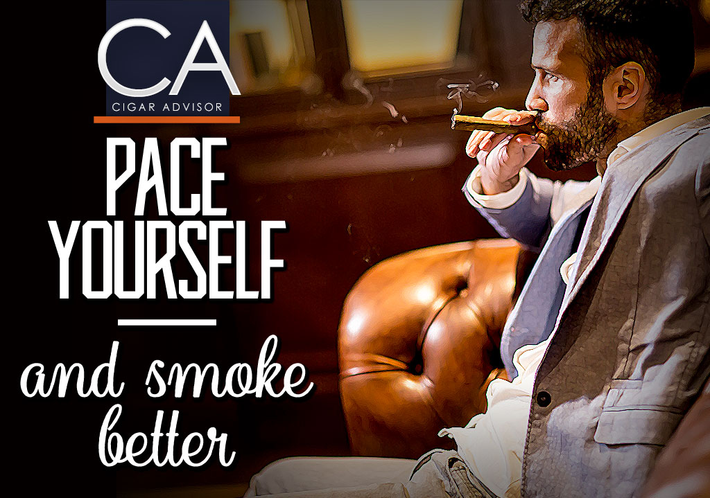 Pace Yourself: How Often to Puff a Cigar + 3 Cigar Smoking Tips