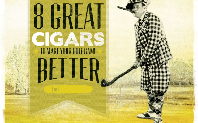CACover 2017 CA Report: Top 8 Golf Cigars to Improve Your Game