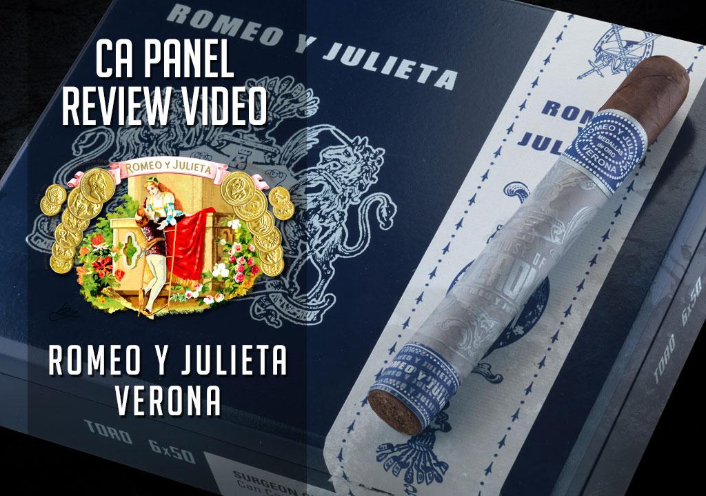 Cigar Advisor Panel: Romeo y Julieta Verona Cigar Review – Video