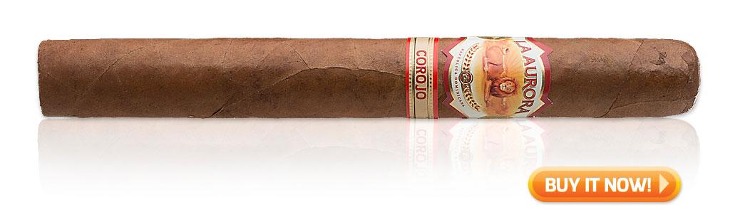 buy La Aurora 110th Anniversary cigars Corojo