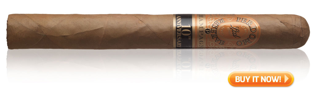 buy perdomo champagne Churchill golf cigars
