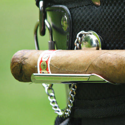 Holder for golf cigars