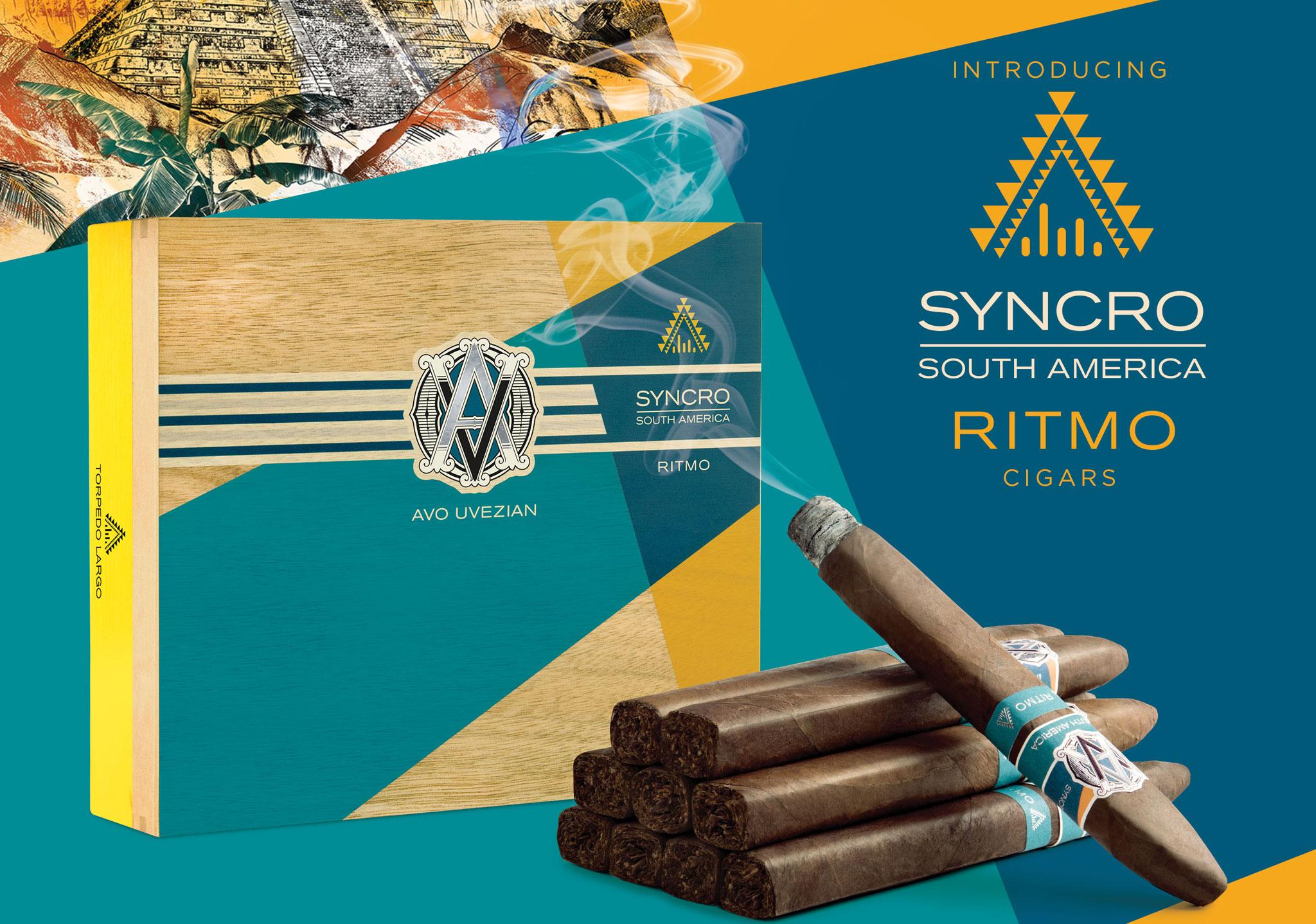 """""""Avo Como Va"""" – Introducing AVO Syncro South America Ritmo Cigars"""
