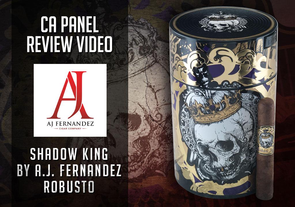 Cigar Advisor Panel: Shadow King Cigar Review – Video