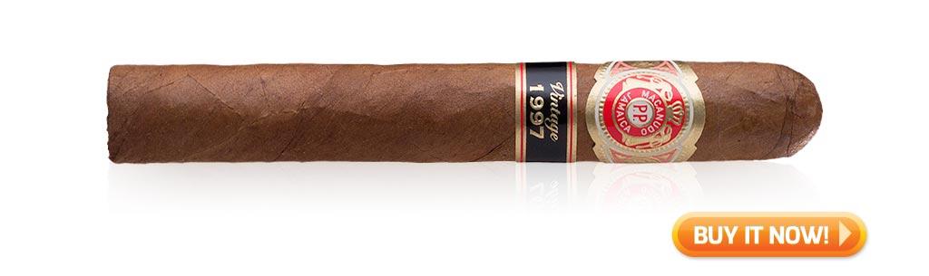 macanudo cigar review vintage 1997
