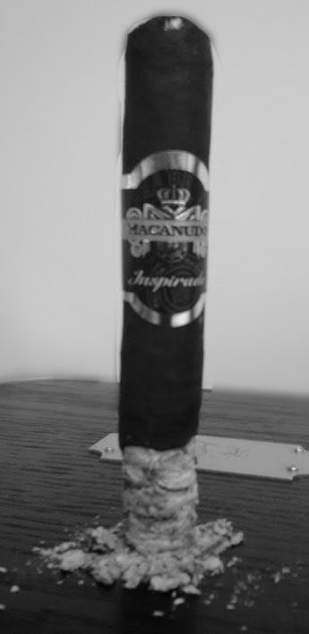 Macanudo Inspirado Black cigar review by fred Lunt