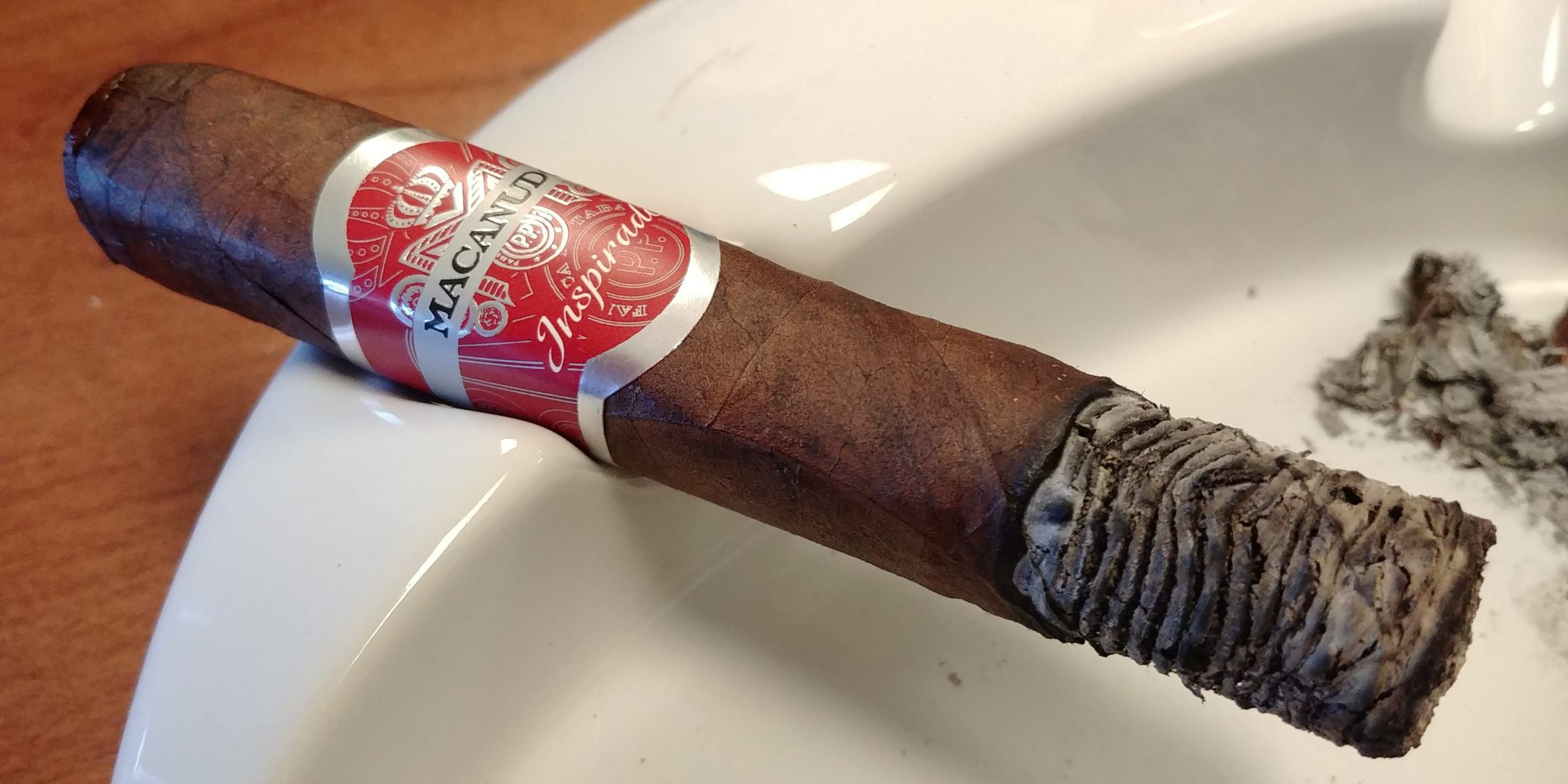 Macanudo Inspirado Red cigar review by John Pullo