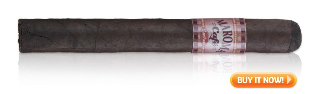 buy Maroma Cafe espresso coffee-infused cigars