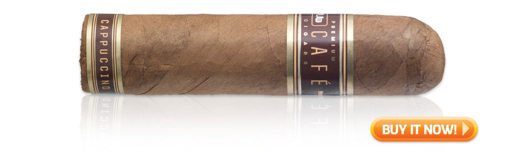 buy Nub Café Cappuccino coffee-infused cigars