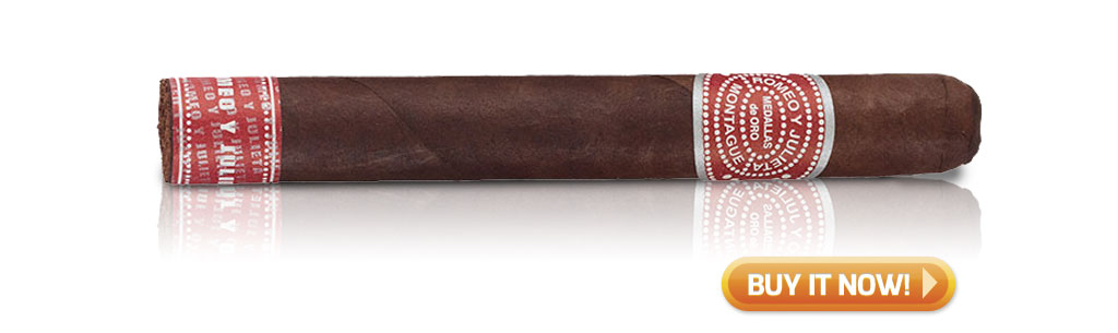 Shop Romeo y Julieta Montague by AJ Fernandez cigars at Famous Smoke Shop