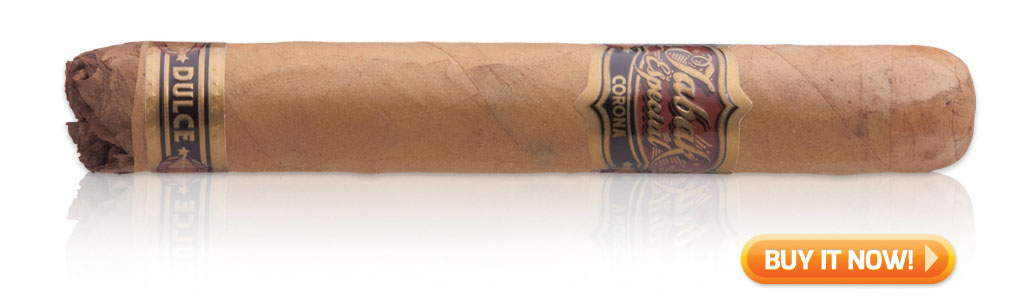 buy Tabak Especial dulce coffee-infused cigars