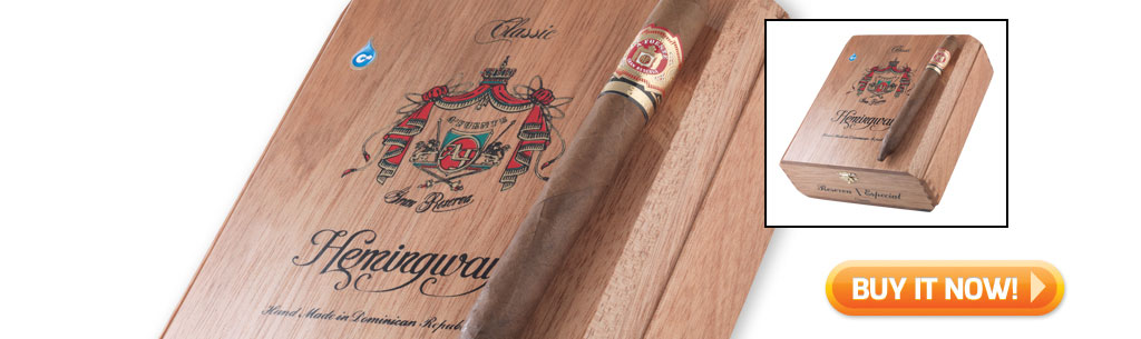 2017 father's day cigar gift guide buy ARTURO FUENTE HEMINGWAY CLASSIC cigars