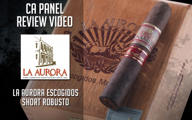 CA Cover La Aurora Escogidos Maduro cigar Review