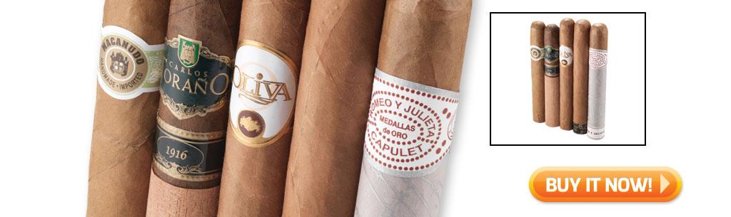 2017 father's day cigar gift guide buy mild cigar sampler