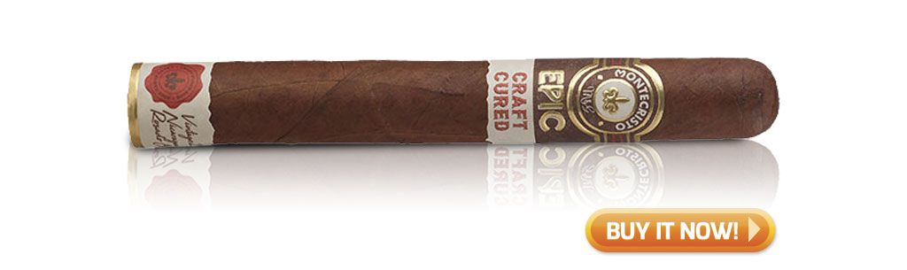 Shop Montecristo Epic Craft Cured cigars at Famous Smoke Shop