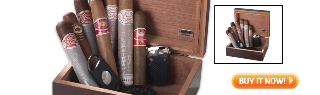 2017 father's day cigar gift guide buy ROMEO Y JULIETA cigar gift set