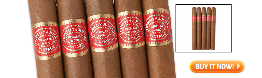 2017 father's day cigar gift guide buy romeo y julieta vintage cigars