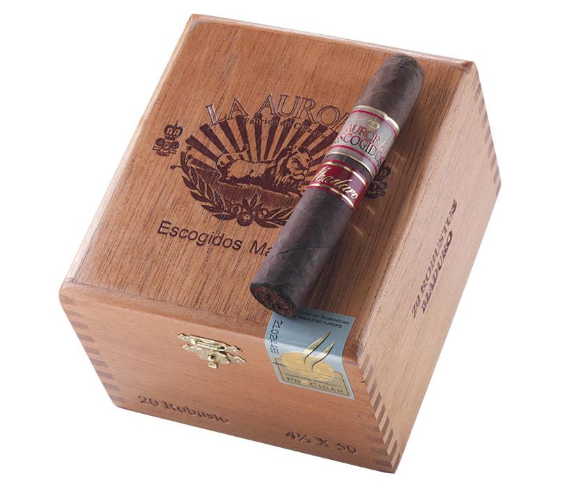 buy la aurora escogidos cigars box